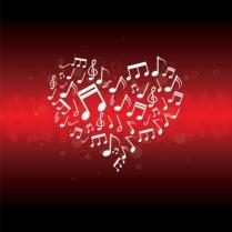 heart piano
