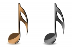 2 music notes